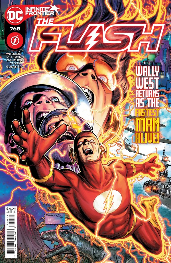 Flash Wally West DC Comics
