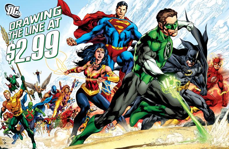 hot topics comics industry dc comics price cover