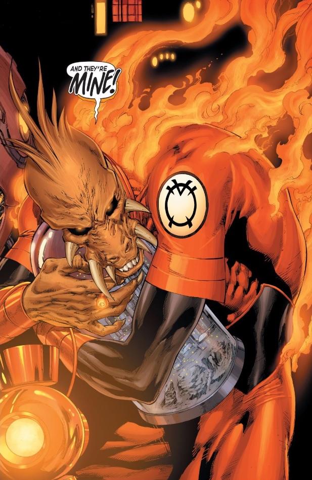 orange lantern larfleeze nfts non fungible tokens hottest comic topics
