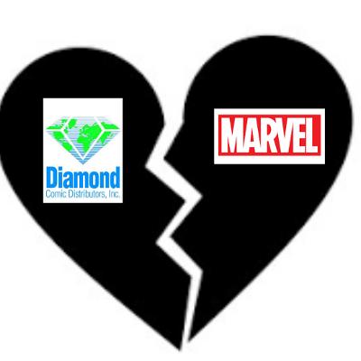 marvel comics diamond distribution penguin random house
