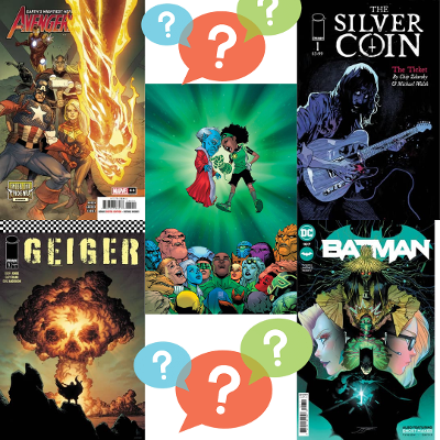 high five comics top picks hot geoff johns gary frank chip zdarsky james tynion avengers phoenix jason aaron green lantern dexter soy dc comic marvel image books