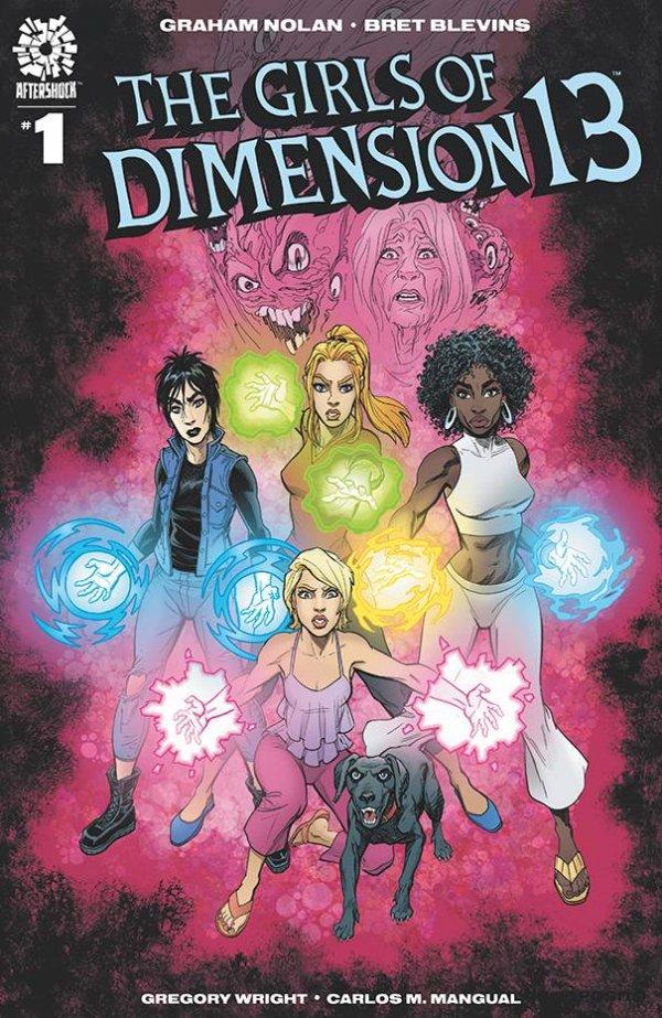 hot picks girls of dimension 13 graham nolar bret blevins doctor strange aftershock comics