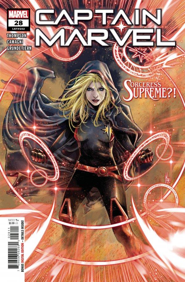 doctor strange captain marvel marvel comics sorceress supreme sorcerer new comic book releases