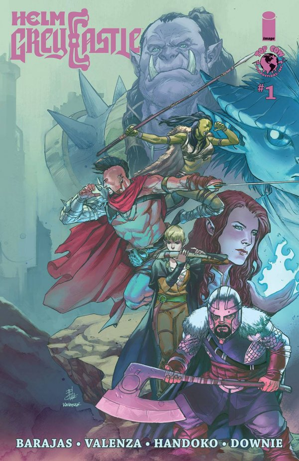 helm greycastle image comics fantasy dungeons and dragons new comic book day