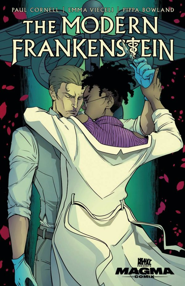 modern frankenstein heavy metal romance horror new comic book day
