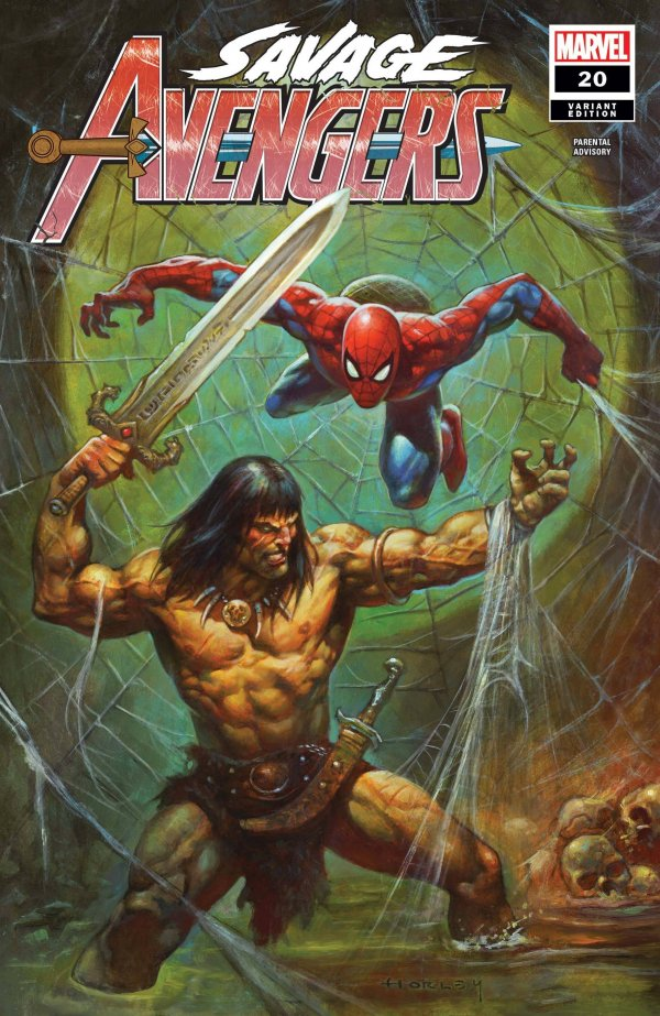 alex horley variant cover spiderman thor new comic book day