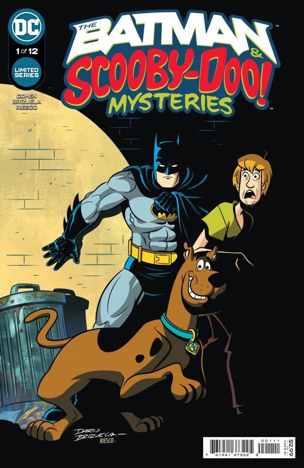 scooby-doo batman shaggy crossover dc comics miniseries