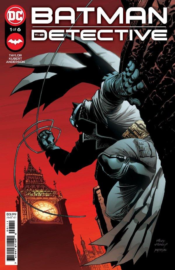 tom taylor andy kubert dc comics batman hot comic books detective europe miniseries